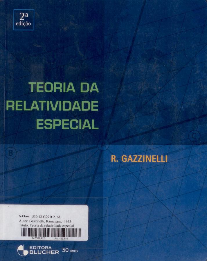 Acervo biblioteca da fsica teoria da relatividade especial 2 ed fandeluxe Image collections